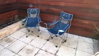 blue and white camping chair New York, 10025