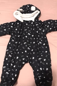 NEVER USED 0-3 month baby winter snowsuit  Toronto, M1H 1G6