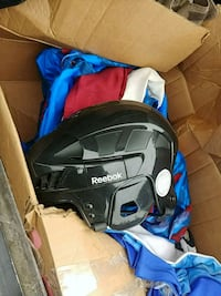black and blue full-face helmet Edmonton, T5A 1C5