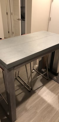 CB2 stern counter table crate and barrel  Los Angeles, 90012
