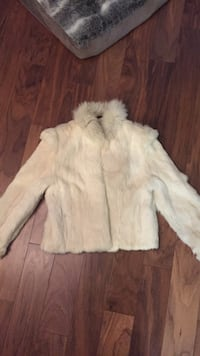 Size Medium Vintage Rabbit fur jacket Vancouver, V6Z
