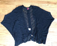 Size xl black knit cardigan  239 mi