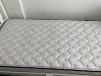 Single bed frame with sealy mattress  Toronto, M3J 1L9