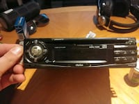 black 1-DIN car stereo head unit Markham, L3T 4P3