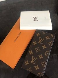 Authentic Louis Vuitton 6 plus iPhone folio case Surrey, V3T 3B3