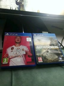 PS4 1TB + FIFA 2020 + GHOST RECON + THE LAST OF US