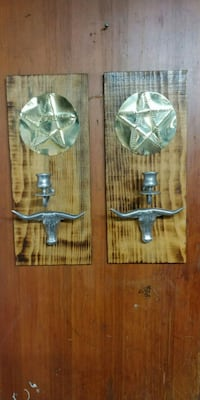 Candle wall plaques TEXAS THEAM!! Vancouver, 98662