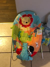 baby's Fisher-Price bouncer