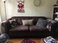 Suede sofa couch Newport News, 23601