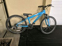 blue and black hardtail mountain bike Burnaby, V5C 2H6