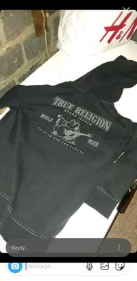 Black True religion hoodie 2xl Washington