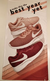 Large In-Store Nike Ad Banner. High Quality Fabric Saint Cloud
