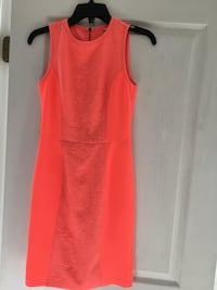 Dress - size 0 Coral color. Like new