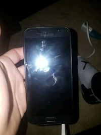 black Samsung A5 Android smartphone Calgary, T2L