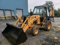 CASE 580C BACKHOE, 40 mi