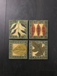 4 Coasters in very good condition Mississauga, L5M