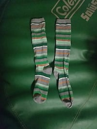 new   youth, large over knee sock