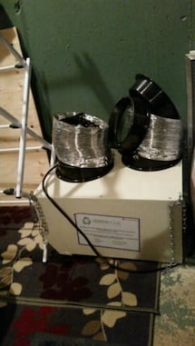 Green home air filtration system