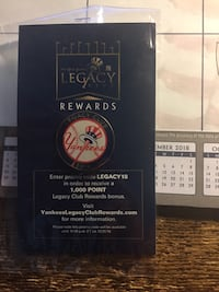 Yankees Legacy Club Pin Santa Clarita, 91355