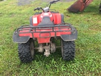 red and black all-terrain vehicle Brossard, J4Y 2Y8