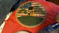 Folk art clock Sebring, 33870
