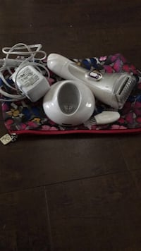 white and blue electric breast pump Calgary, T3P