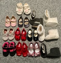 Baby shoes ask for size and pricing  Coquitlam, V3E 2B4