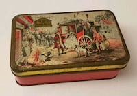 Antique button tin box  Gettysburg, 17325
