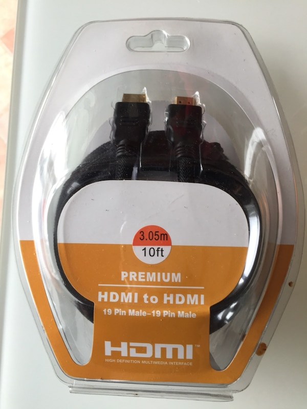 10 ft hdmi brand new