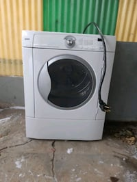 Kenmore front load washer and dryer.