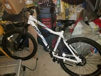 white and black full-suspension bike Oakville, L6J 7M4