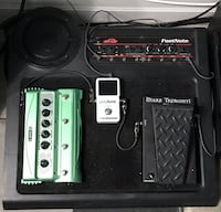 Guitar pedals powered amplifier  Toronto, M5G