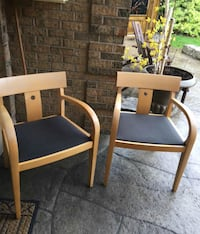 Solid Maple Chairs Milton