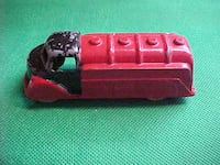 Vintage London Toy Die-cast Oil Tanker #13 Red LONDON
