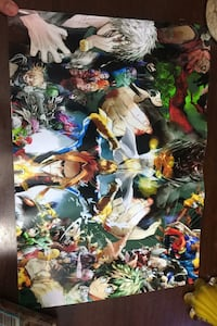 my hero academia poster Mississauga, L5K 1T4