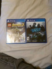 two Sony PS4 game cases St. Catharines, L2R 6P9