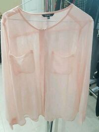 sheer pink top size XL Mississauga