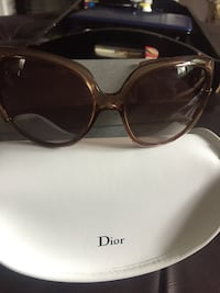 Authentic ladies Dior sunglasses with box & case-$65 Markham, L3R 9L4