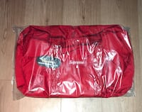 Supreme Red Duffle Bag SS19 Silver Spring, 20910