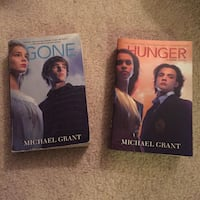 Gone and Hunger books - $5 for both, see description Manassas