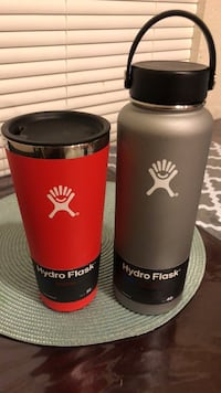 Hydro flask 40oz wide mouth and 32oz tumbler with lid brand new Spring Valley, 91977