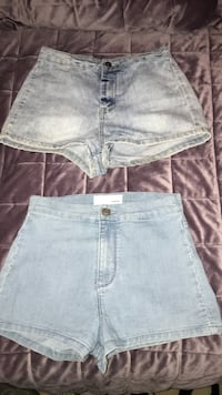 women's blue denim shorts Montréal, H3X 2T6