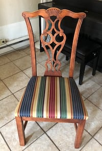 Chippendale wood chairs in lot of 4 Montréal, H2T 2M8