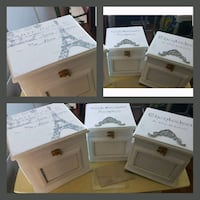 Shabby picture box trio  Whitby, L1N 8X2