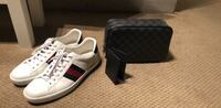 Pair of white Gucci low-top sneakers 1953 mi