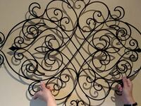 Metal wall decor McLean, 22101