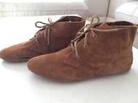 Paire de bottes en daim marron Villeneuve Saint-Georges, 94190