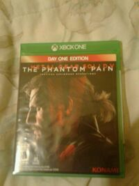 The Phantom Pain Xbox One game case Houston, 77087