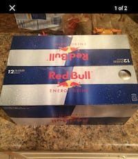 Two 12-pack cases of Red Bull for $15 or 4 for $30 Glendale, 85305