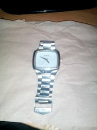 Stainless steel nixon watch (the player) 2255 mi